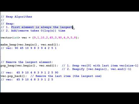 STL Algorithms 3 Sorting