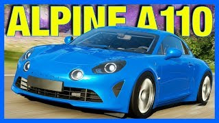 Forza Horizon 4 : The Best French Car!! (FH4 Alpine A110)