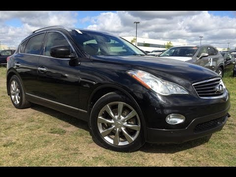 Pre Owned Black 2009 Infiniti Ex35 Awd Walk Around Review