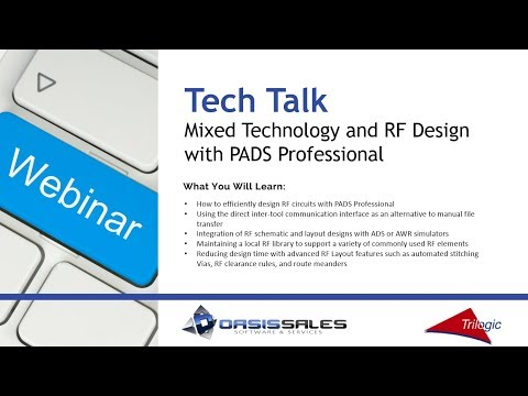 Mixed Technology RF Design PADS Professional - YouTube