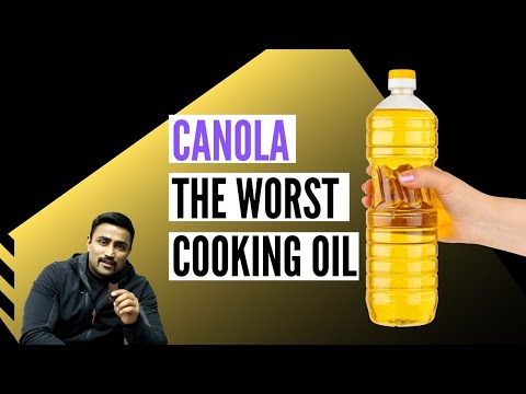 CANOLA OIL EXPOSED - THE WORST COOKING OIL YOU CAN EAT