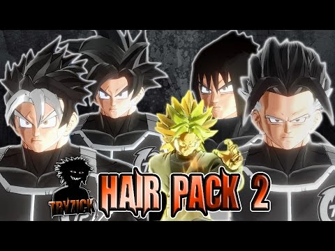 Dragonball Xenoverse 2 - Hair Pack 2 - Tryzick