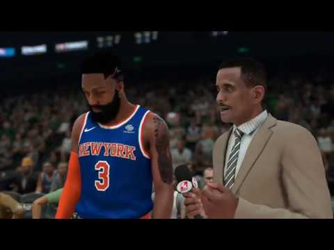 NBA 2K18 - My Career - New York Knicks @ Utah Jazz   90 - 62