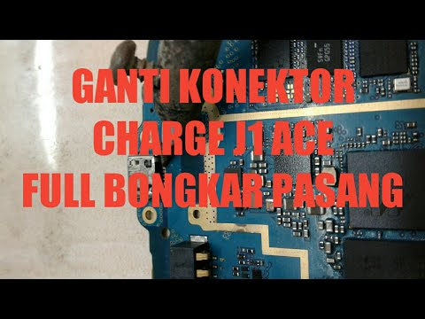 Samsung J1 Ace Ganti Connector Charger Plug In Full Bongkar Pasang