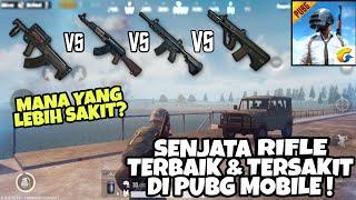Test Senjata Rifle Terbaik & Tersakit di PUBG MOBILE INDONESIA ! (AKM, M416, GROZA)