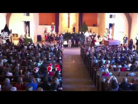St Perpetua school Christmas Sharing