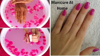 HAND WHITENING MANICURE AT HOME -REMOVE SUN TAN & WHITEN YOUR SKIN