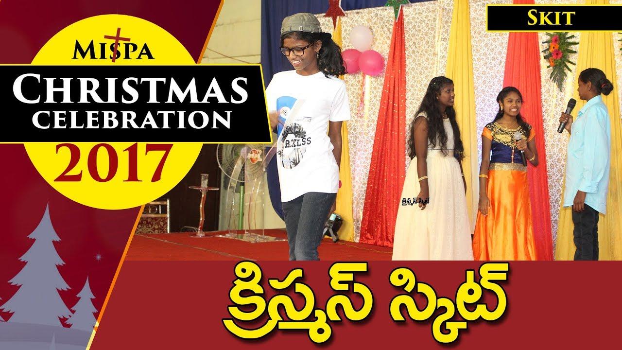 The Best Christmas Skit Telugu    Mispa Ministries