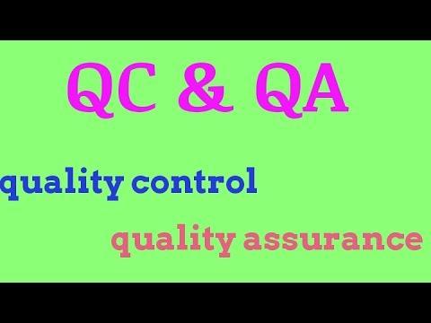 QC & QA //quality control & quality assurance (difference)// hindi
