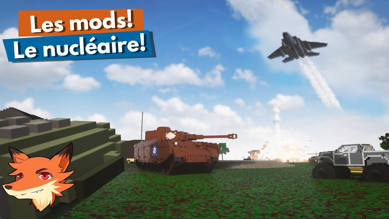 Download Teardown - Les mods! [FR] Missile nucléaire! Bombardiers! Tanks! Et plein de folies!