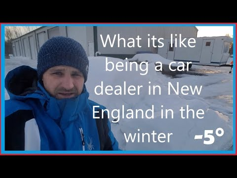 ZERO DEGREES!!! OWNING A CAR DEALERSHIP IN NEW ENGLAND