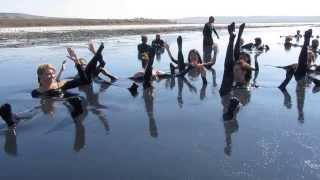 Занятие в лечебной грязи) Танц спорт  лагерь Олимп  2 урок))