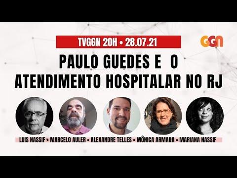 COMO PAULO GUEDES DESMONTOU O ATENDIMENTO HOPITALAR NO RIO DE JANEIRO