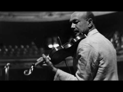 Joseph Szigeti シゲティ / Brahms:Vn.Conzert.-3rd.mov.(1928)