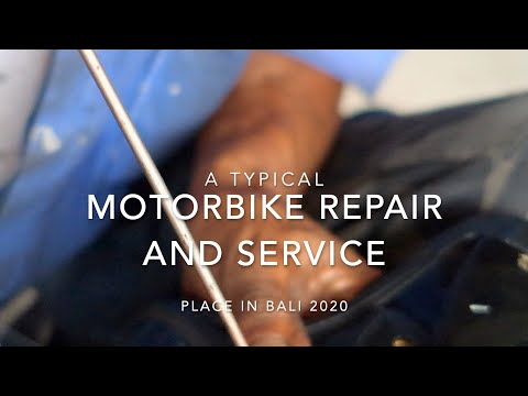 MOTORBIKE SCOOTER REPAIR SHOP NUSA DUA BALI 2020