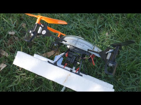 Can we convert a $100 quadcopter drone into a river water sampling drone?
