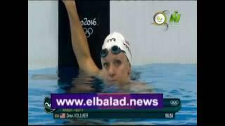 مصر ريو دي جانيرو 2016 .. تأهل فريدة عثمان لنهائيات السباحة .. فيديو