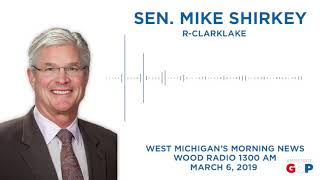 Sen. Shirkey reacts to Gov. Whitmer's budget proposal on WOOD Radio