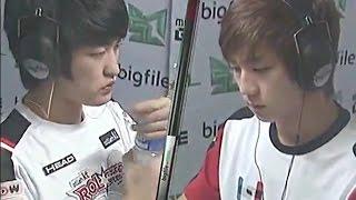이영호 vs 이제동 역대급 완성형 페이크 플레이 ( Flash vs Jaedong )