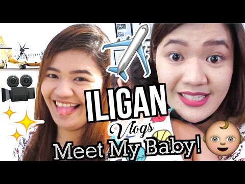ILIGAN 2017: Meet My Baby!!! ♡ | makeupbykarlamisa Vlogs