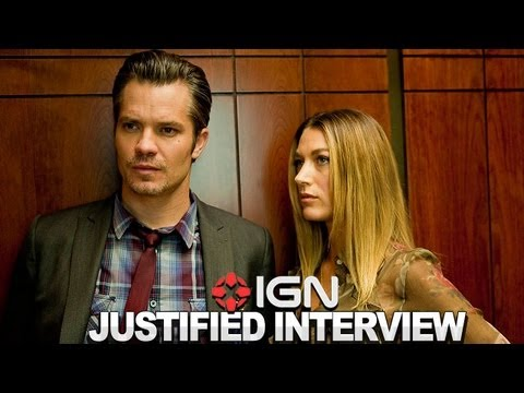 Justified - Natalie Zea Interview - NYCC 2012