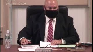 9/3/20 Lower Providence Board of Supervisors Meeting