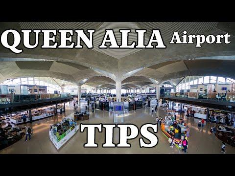Amman Jordan Airport - Queen Alia International Airport TIPS & TRICKS
