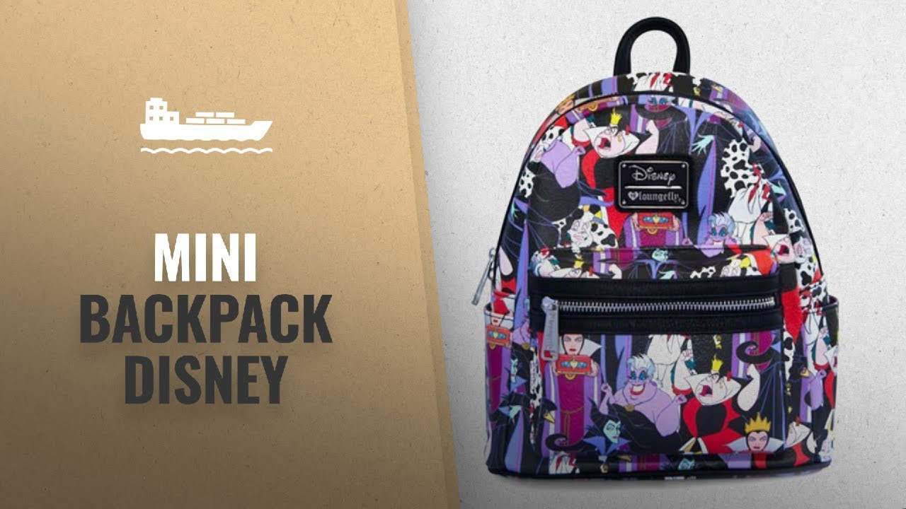ec622b4f728 Top 10 Mini Backpack Disney  2018   Loungefly x Disney Villains Mini ...