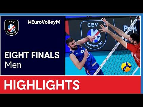 Serbia vs. Turkey Highlights - #EuroVolleyM