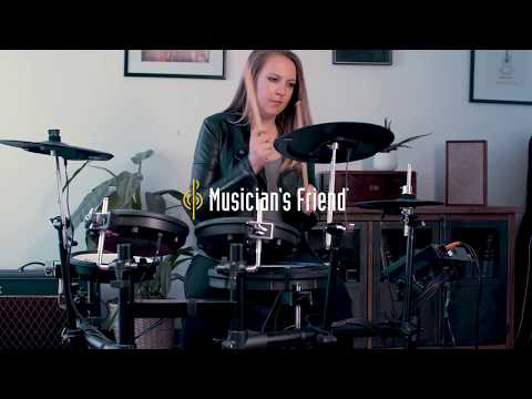 Roland TD-17 V-Drums Family of Electronic Drum Kits - Sound Demo and Features