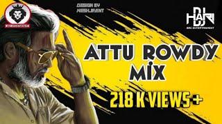 Dj Hari - Attu Rowdy   (Official Audio Remix)