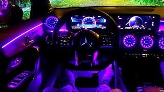 Magnifique l39;intérieur de cette Mercedes A35 AMG