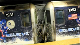 IRT Subway: Re-Wraped 42nd Street (S) [Track 1 & 3] at Grand Central Terminal