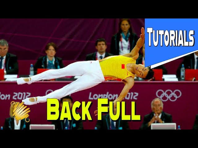 Trampoline Gymnastics Tutorial: How To Do Back Full Easy