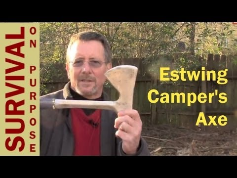 Estwing Campers Axe - Survival on a Shoestring