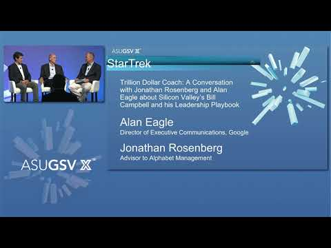 2019 ASU GSV Summit: StarTrek Trillion Dollar Coach with Jonathan Rosenberg and Alan Eagle Mp3