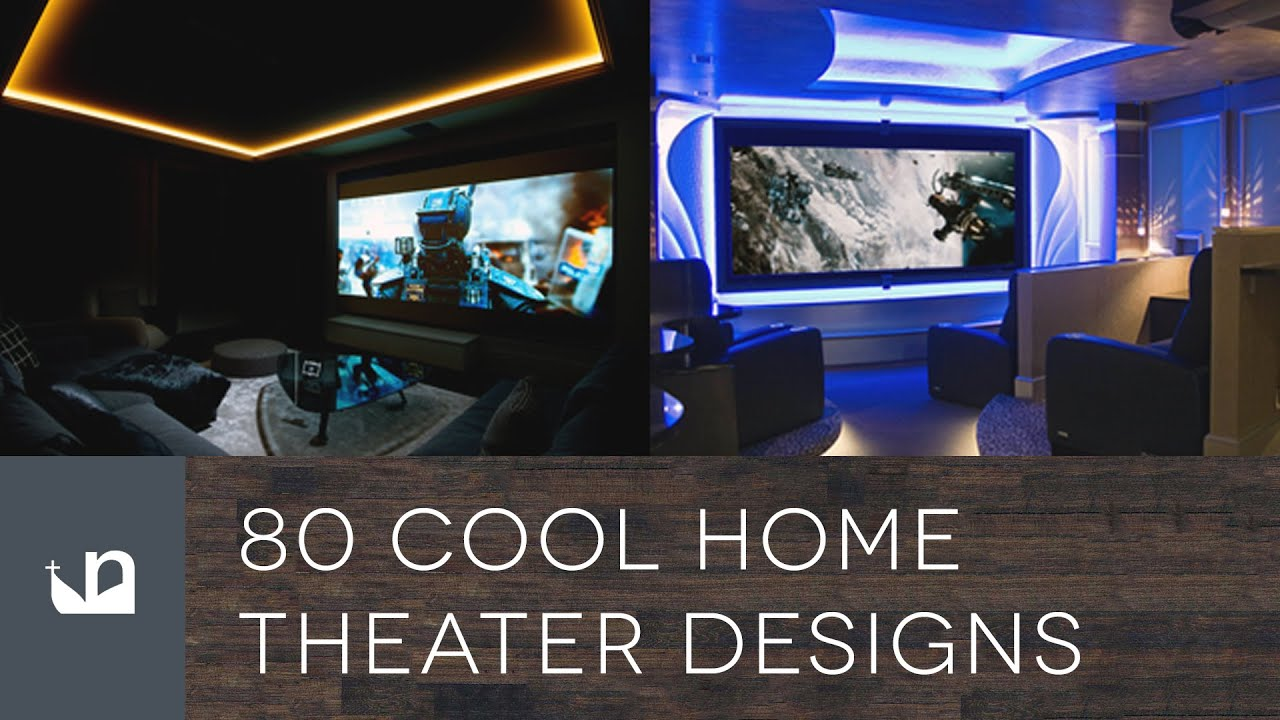80 Cool Home Theater Designs   Private Movie Rooms And Cinemas   YouTube