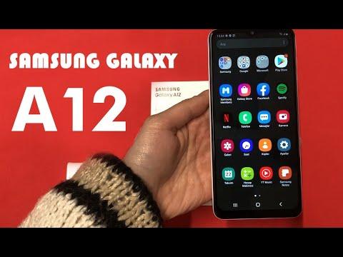 Samsung Galaxy A12 Kutu Açılışı ( Yeni 2021 )