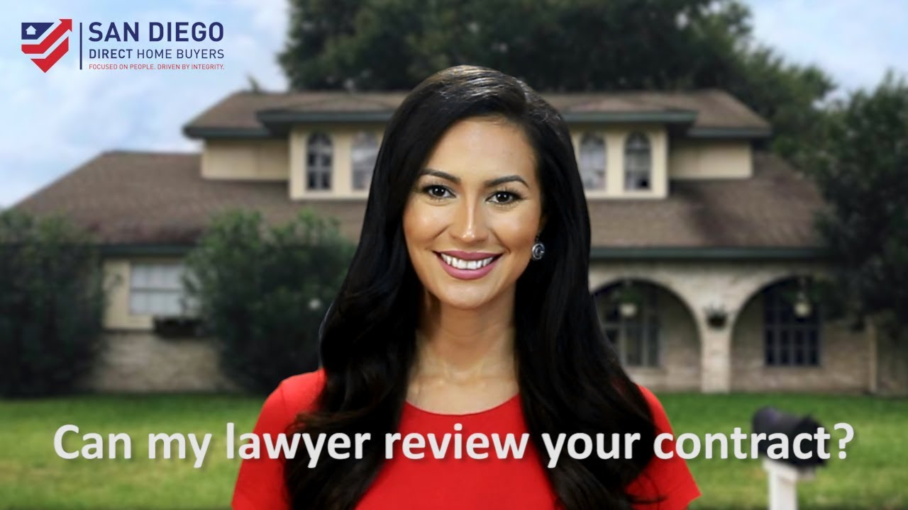 Can my lawyer review your contract?