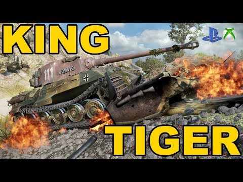 King Tiger Okiem Hincula World Of Tanks Xbox One/Ps4