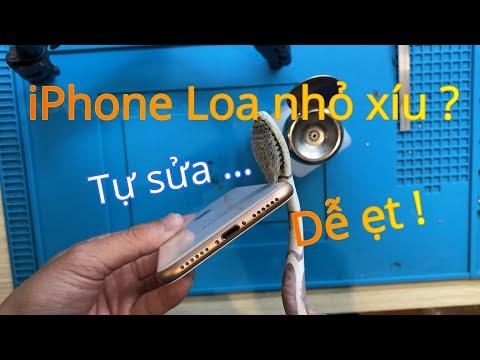 iPhone Loa Nhỏ Xíu , Loa Rè ? Hướng dẫn tự sửa loa nhỏ iphone tại nhà -Wukong Mobile