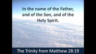 In the Name of the Father, Son and Holy Spirit - Trinity