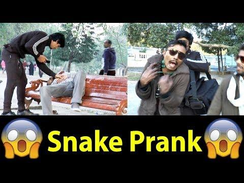 Snake Prank in Pakistan Gone wrong OMG