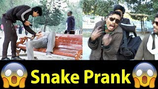 Snake Prank in Pakistan Gone wrong OMG