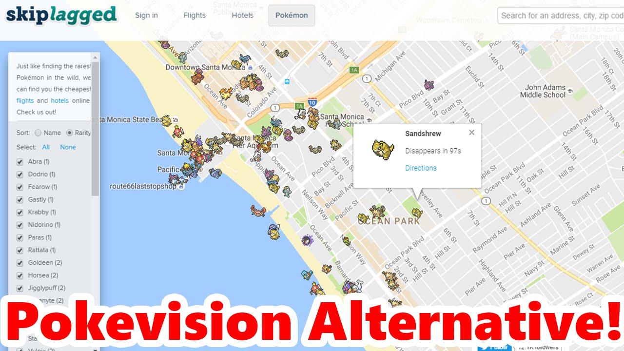 Pokémon GO Tracking APP Pokevision Alternative