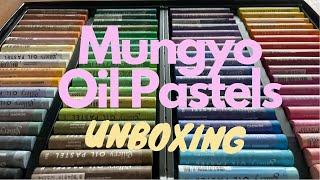 Unboxing New Mungyo Gallery Soft Oil Pastels 72 colors | แกะกล่องสีชอล์คน้ำมันเกรด artist 72 สี screenshot 2