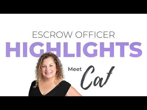 Escrow Highlights: Cate Chism