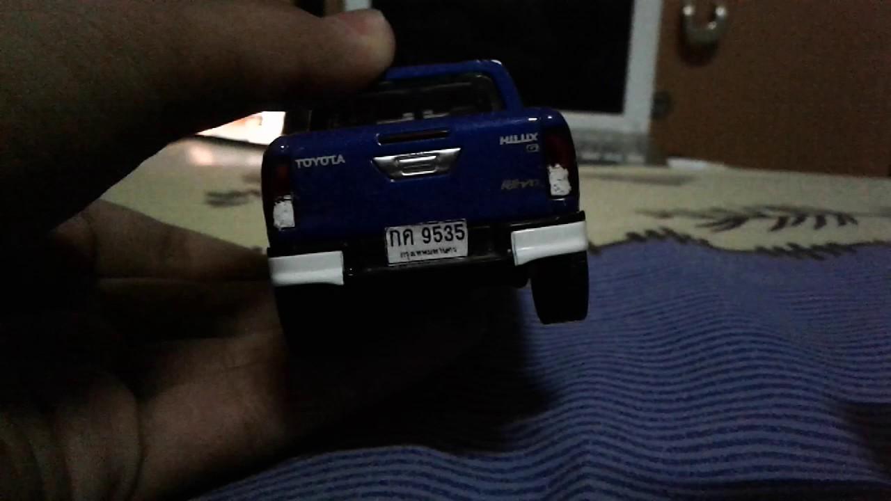 โมเดล Toyota Hilux Revo Double Cab 2 8g 4x4 Diecast With Thai Car