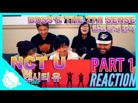 Non-Kpop Fans REACT to NCT U 엔시티 유 - BOSS & The 7th Sense 일곱 번째 감각 PART 1