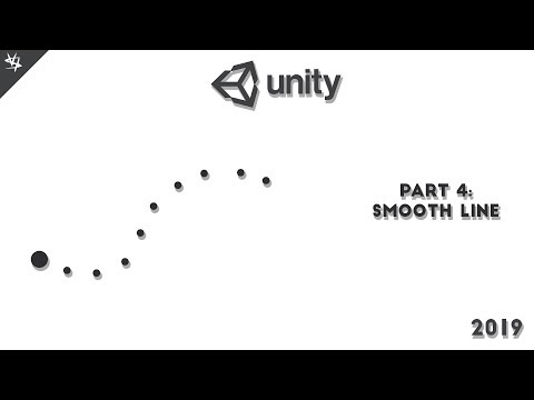 Smooth line follow Effect | 2D Game in Unity 2019 Beginner Tutorial | Okay clone | Part 4 thumbnail